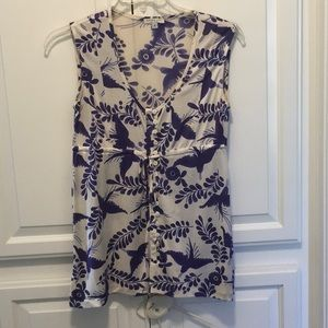 Nieves Levi silk top small